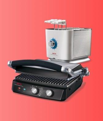 Tostapane, tostiere e bistecchiere